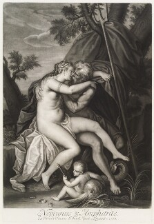 'Loves of the Gods': Neptune and Amphitrite, by John Smith, after  Titian - NPG D11714