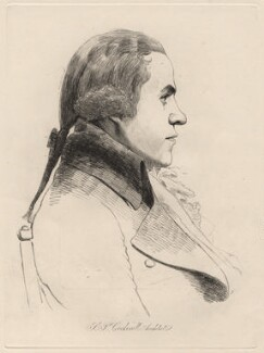 Samuel Pepys Cockerell, by William Daniell, after  George Dance - NPG D12191