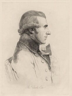 Charles Este, by William Daniell, after  George Dance - NPG D12193