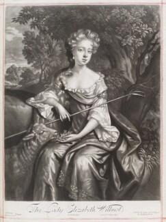 Elizabeth Montagu (née Willmot), Countess of Sandwich, by John Smith, published by  Edward Cooper, after  Willem Wissing, after  Jan van der Vaart, 1688 - NPG D11629 - © National Portrait Gallery, London
