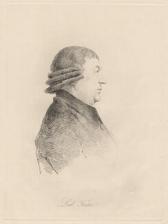 Lord Forster, by William Daniell, after  George Dance - NPG D12196
