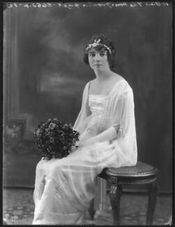 Yvonne Rosamund Van Der Horst (née Gage), by Bassano Ltd, 10 June 1920 - NPG x78706 - © National Portrait Gallery, London