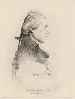 Sir Robert Graham, by William Daniell, after  George Dance - NPG D12198