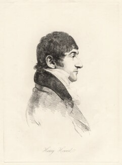 Henry Howard, by William Daniell, after  George Dance - NPG D12201