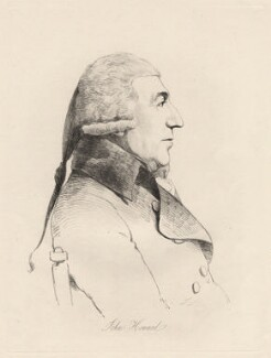John Howard, by William Daniell, after  George Dance - NPG D12202