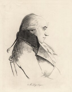 William (?) Long, by William Daniell, after  George Dance - NPG D12207