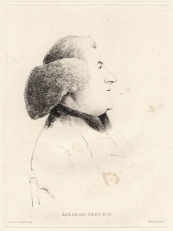 Abraham Rees, by William Daniell, after  George Dance - NPG D12211