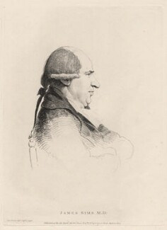 James Sims, by William Daniell, after  George Dance - NPG D12217