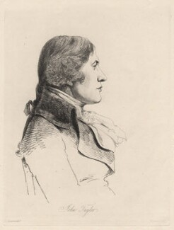 John Taylor, by William Daniell, after  George Dance - NPG D12219