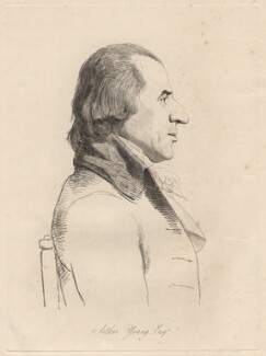 Arthur Young, by William Daniell, after  George Dance - NPG D12223