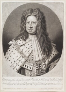 King George I, by and published by John Smith, after  Sir Godfrey Kneller, Bt, 1715 - NPG D11634 - © National Portrait Gallery, London