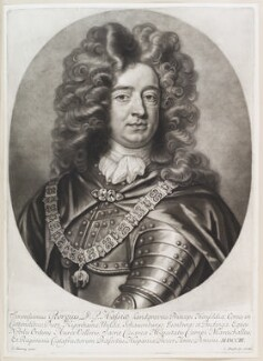 George, Landgrave of Hesse, by and published by John Smith, after  Thomas Murray, 1703 - NPG D11645 - © National Portrait Gallery, London