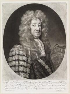 John Hay, 1st Marquess of Tweeddale, by John Smith, after  Sir Godfrey Kneller, Bt, 1695 (1695) - NPG D11646 - © National Portrait Gallery, London