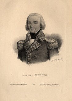 François Paul Brueys d'Aigalliers, Comte de Brueys, by Antoine Maurin, printed by  Grégoire & Deneux - NPG D12224