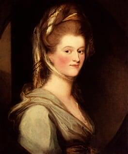Elizabeth Craven (née Berkeley), Margravine of Brandenburg-Ansbach, by Ozias Humphry, circa 1780-1783 - NPG L223 - Tate, 2017; on loan to the National Portrait Gallery, London