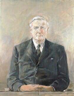 Cecil Harmsworth King, by Graham Vivian Sutherland, 1969 - NPG 6613 - © National Portrait Gallery, London