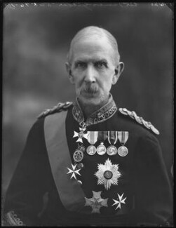Sir James Gildea, by Bassano Ltd - NPG x78743