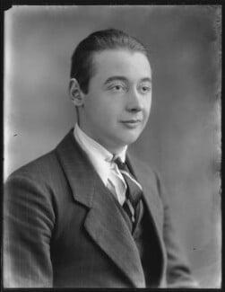 George Harley Hay, 14th Earl of Kinnoull, by Bassano Ltd - NPG x78748