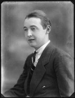 George Harley Hay, 14th Earl of Kinnoull, by Bassano Ltd - NPG x78749