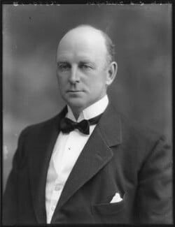 Courtenay Charles Evan Morgan, 3rd Baron Tredegar, by Bassano Ltd - NPG x78750