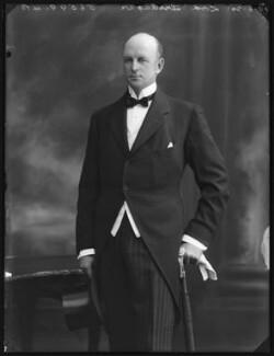 Courtenay Charles Evan Morgan, 3rd Baron Tredegar, by Bassano Ltd - NPG x78753