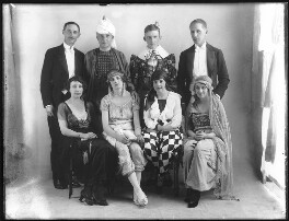Grey Jones and seven others, by Bassano Ltd - NPG x78764