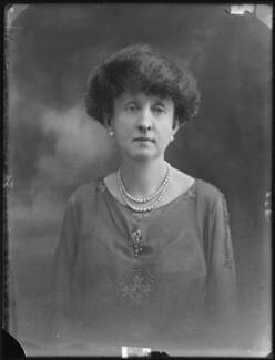 Alexandrina Louisa Maud (née Vane-Tempest-Stewart), Viscountess Allendale, by Bassano Ltd - NPG x78768