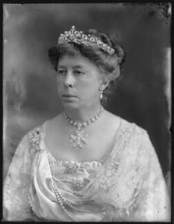 Susan Harris (née Hamilton), Countess of Malmesbury, by Bassano Ltd - NPG x78782
