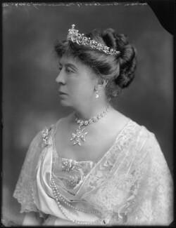 Susan Harris (née Hamilton), Countess of Malmesbury, by Bassano Ltd - NPG x78783