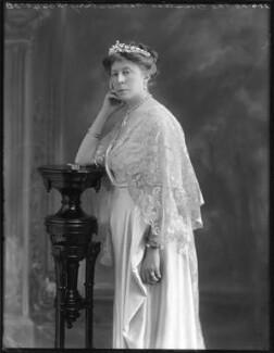 Susan Harris (née Hamilton), Countess of Malmesbury, by Bassano Ltd - NPG x78784