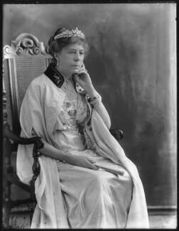 Susan Harris (née Hamilton), Countess of Malmesbury, by Bassano Ltd - NPG x78785