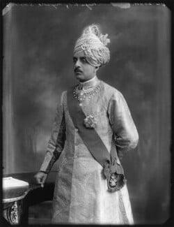 Sir Sri Kanthirava Narasimharaja Wadiyar Bahadur, Yuvaraja of Mysore, by Bassano Ltd, 24 June 1920 - NPG x78799 - © National Portrait Gallery, London