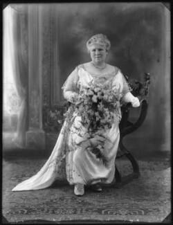 Muriel Mary Georgina Newton (née Duke), Lady Eltisley (later Lady Huntingfield), by Bassano Ltd - NPG x74891