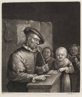 Singing lesson, published by John Smith, after  Egbert van Heemskerck the Elder - NPG D11723
