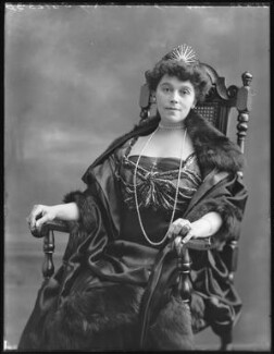 Constance Gertrude Lilian (née Everett), Lady Cozens-Hardy, by Bassano Ltd - NPG x74936
