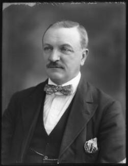 Sir Park Goff, 1st Bt, by Bassano Ltd - NPG x74944
