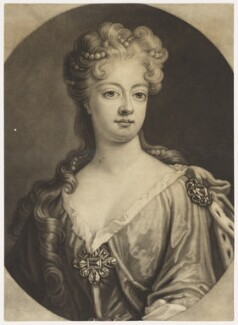 Sophia Dorothea, Queen of Prussia, by John Smith, after  Johann Leonhard Hirschmann - NPG D11160