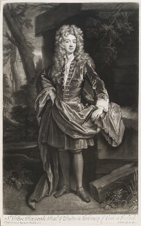 John Perceval, 1st Earl of Egmont, by and published by John Smith, after  Sir Godfrey Kneller, Bt - NPG D11553