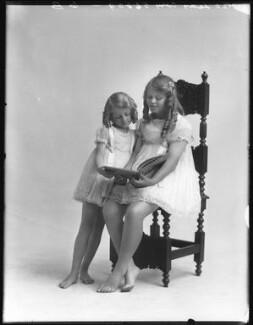 Diana Ethel Muriel Donald Lyell (née Cory); Valerie Donald (née Cory), Lady Gane, by Bassano Ltd - NPG x74992