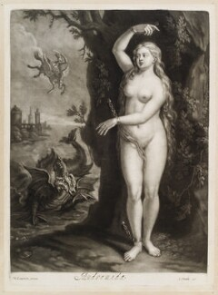 Andromeda, published by John Smith, after  Marcellus Laroon - NPG D11736
