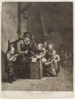 The Dutch School, by Isaac Beckett, published by  John Smith, after  Egbert van Heemskerck the Elder - NPG D11738