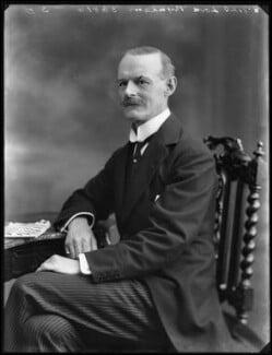 Henry John Philip Sidney Roper-Curzon, 18th Baron Teynham, by Bassano Ltd - NPG x75000