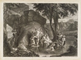 Diana and Acteon, by and published by John Smith, after  Pierre Berchet - NPG D11741