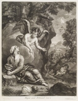 Hagar and Ishmael, by and published by John Smith, after  Thomas Pembroke - NPG D11746