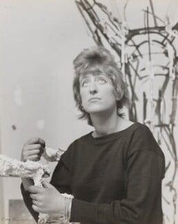 Elisabeth Frink, by Ida Kar - NPG x125358