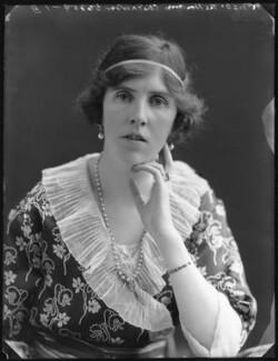 Clare Meriel Chichester (née Wingfield), Lady Templemore, by Bassano Ltd - NPG x75026