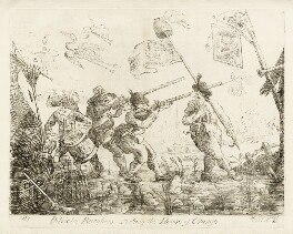 'The patriotic burghers attacking the House of Orange', by James Sayers, published by  Thomas Cornell - NPG D12242