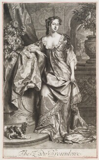 Alice (née Sherrard), Lady Brownlow, by John Smith, published by  Alexander Browne, after  Willem Wissing, 1685 (1685) - NPG D11560 - © National Portrait Gallery, London