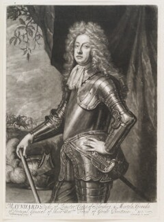 Meinhard de Schomberg, 3rd Duke of Schomberg, by and published by John Smith, after  Sir Godfrey Kneller, Bt, 1693 (circa 1690) - NPG D11562 - © National Portrait Gallery, London