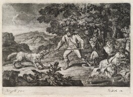 Good Herdsman, by Robert Robinson, published by  John Smith - NPG D11785
